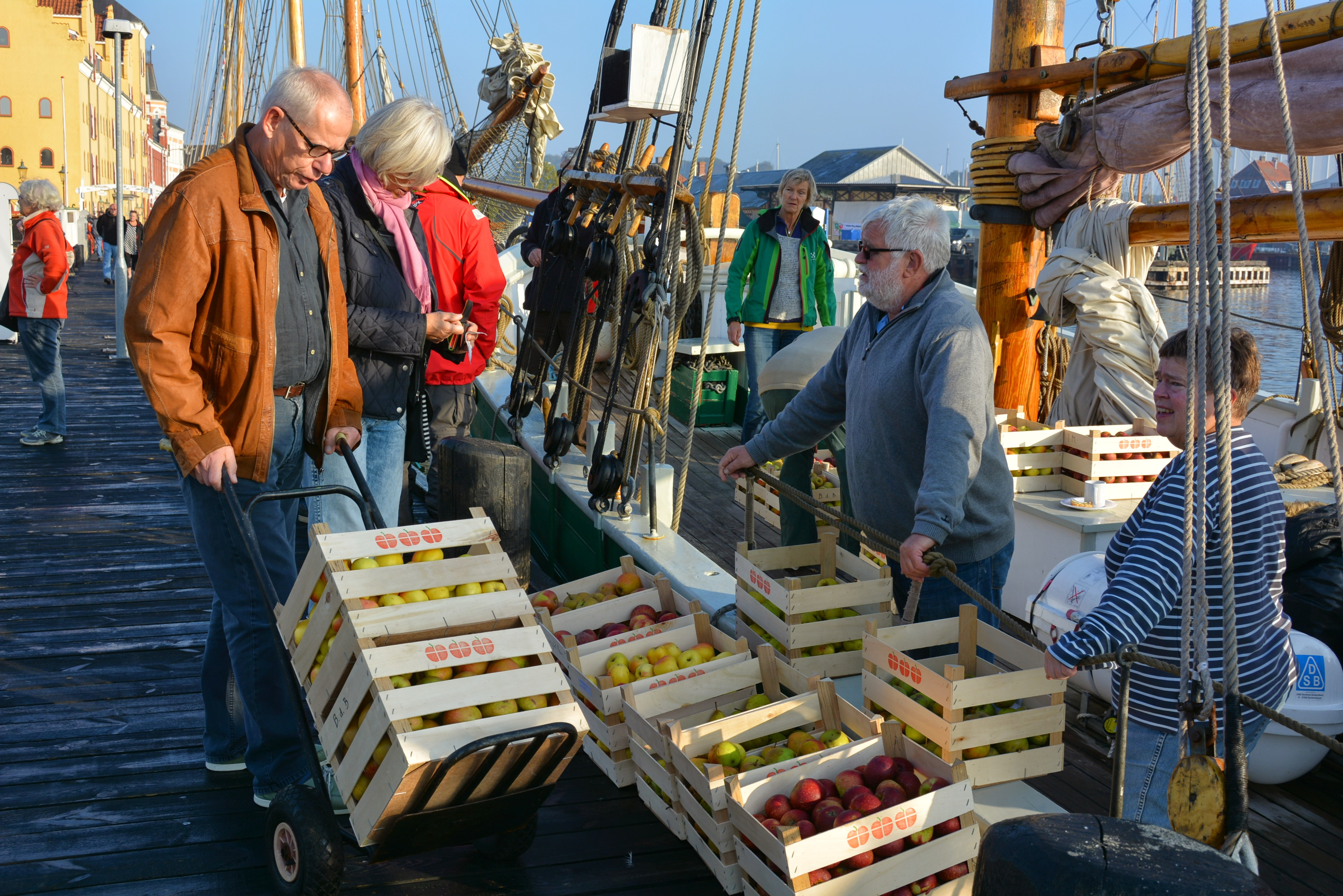 Æbleræs - foto: Knud Mortensen