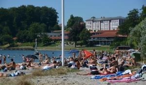 Christiansminde strand - foto: Knud Mortensen