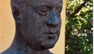 SAK - Kai Nielsen skulptur - Foto: Svendborg Byhistorisk Arkiv