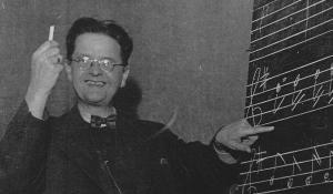Komponist Oluf Ring - foto: Skaarup Lokalhistorisk Arkiv
