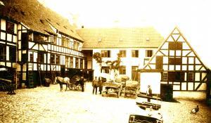 Spillestedet Harders i Ribers Gård - foto: Svendborg Byhistorisk Arkiv