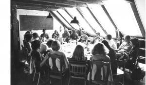 Den Røde Højskole - foto: Lokalhistorisk arkiv