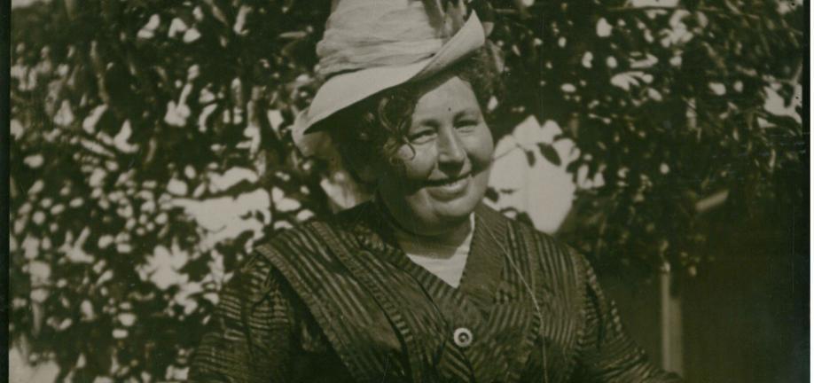 Karin Michaelis - foto: Svendborg Museum/Byhistorisk arkiv