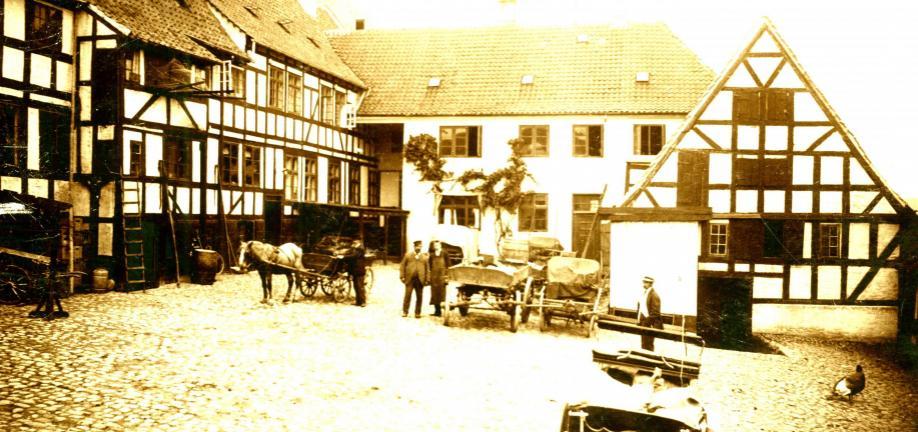 Ribers Gård - foto: Svendborg Byhistorisk Arkiv