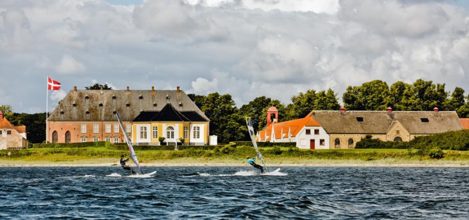 Vandsport ved Valdemarslot - foto: Knud Mortensen
